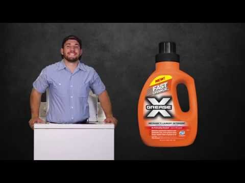 Fast Orange Grease X Mechanic's Laundry Detergent