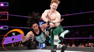 Mustafa Ali vs. Gentleman Jack Gallagher: WWE 205 Live, Feb. 20, 2018