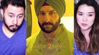 SACRED GAMES | Season 2 | Saif Ali Khan | Nawazuddin Siddiqui | Kalki Koechlin | Trailer Reaction!