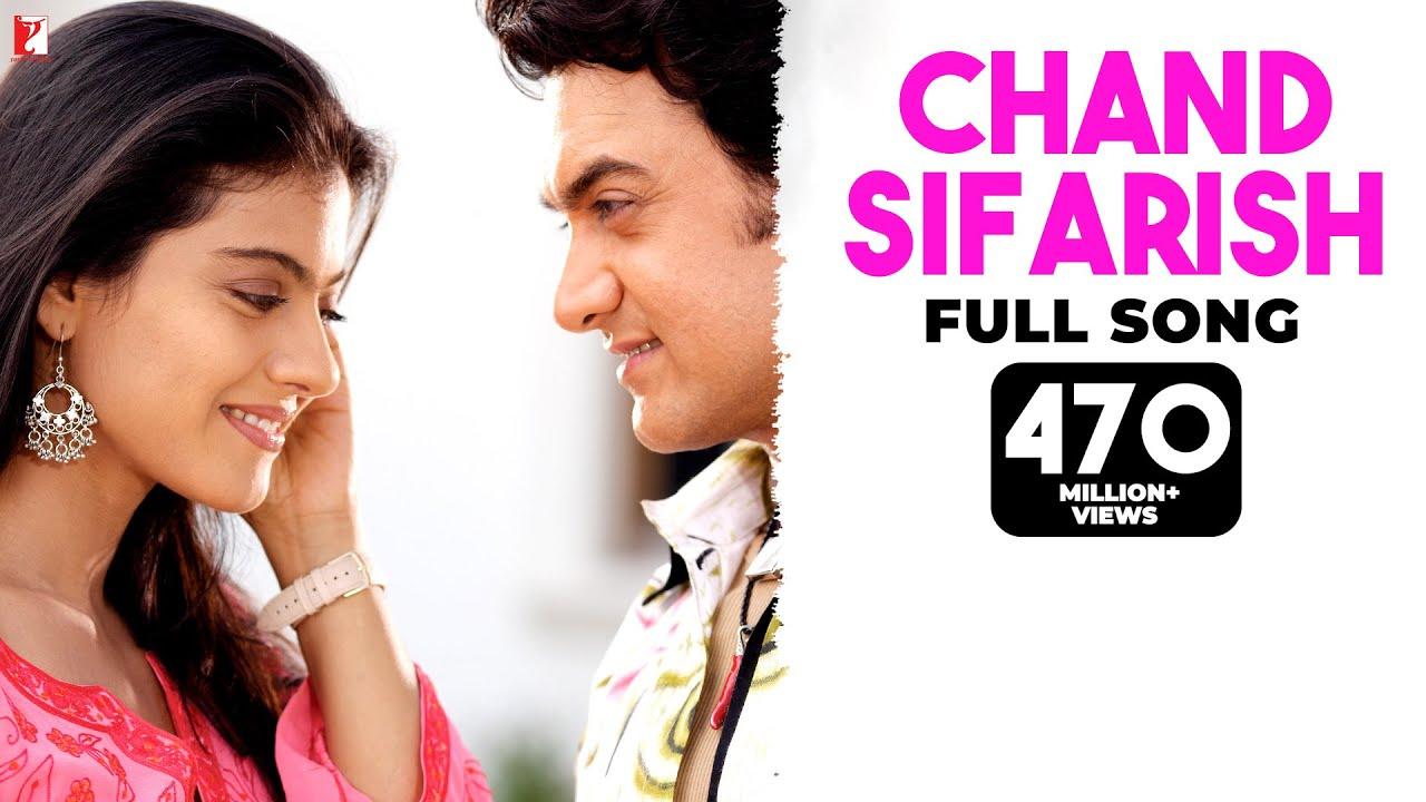Chand Sifarish - Full Song   Fanaa   Aamir Khan   Kajol   Shaan   Kailash Kher