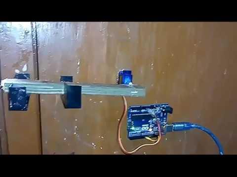 DIY Computer Controlled Door Lock Using Processing and Arduino