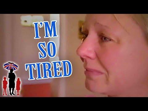 Supernanny | Exhaustion Makes Mom Break Down!