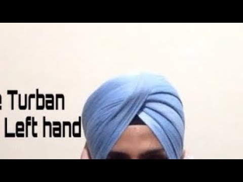 How to tie turban from left Hand By Harpreet singh
