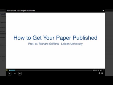How to Get Your Paper Published