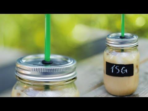 DIY MASON JAR CUP