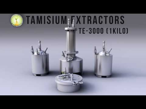Tamisium Extractor Radio Ad bho, closed loop, butane essential oil extractor