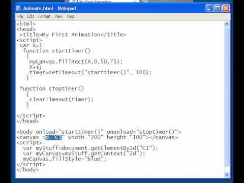 HTML 5  Javascript  Lesson-21 Animation Introduction