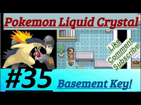 Pokemon Liquid Crystal Episode 35 Got Basement Key In Radio Tower
