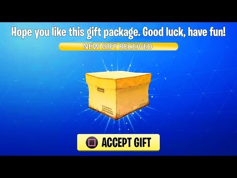 *NEW* How to Gift Skins in Fortnite! (Fortnite Gifting System)