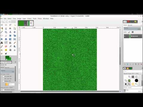 GIMP Tutorial 2: Two Different Grass Textures