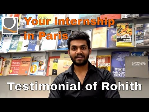 Your internship in Paris: testimonial
