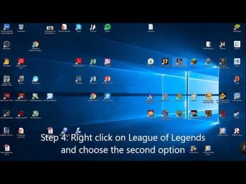 League of Legends Black Screen/bug fix/2018