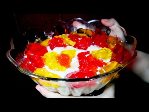 Easy Custard Trifle - Homemade Custard Recipe - Easy Dessert Recipe