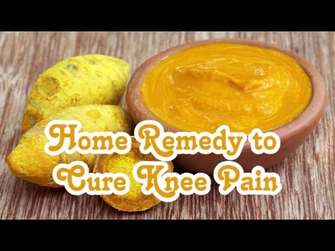 Home Remedy to Cure Knee Pain