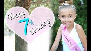 Happy 7th Birthday Lilia!!!
