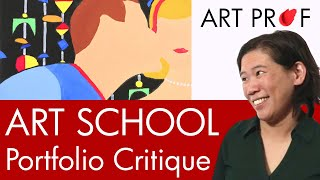 My Art | Accepted Art Center Portfolio + Scholarship Videos