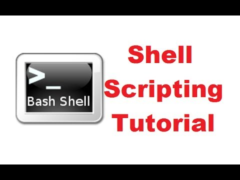 Bash Shell Scripting Tutorial