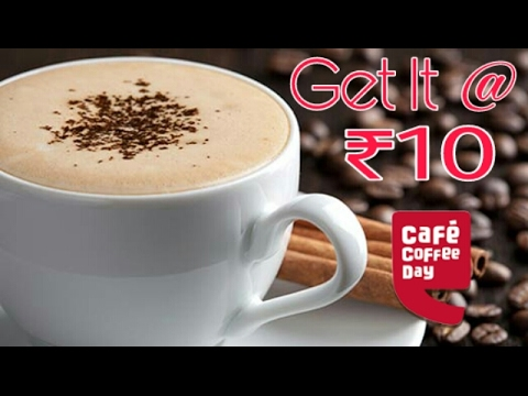 Drink A Cappuccino only ₹10 for Lifetime 2017 new process