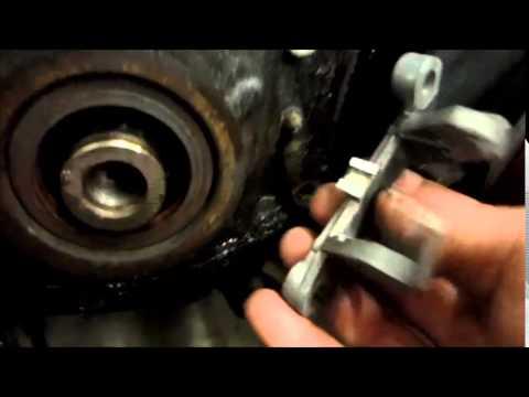 Buick V6 DIS Crankshaft Position Sensor Replace - No Removal of Balancer