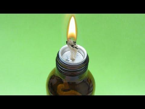 Brilliant ideas (DIY  Alcohol Lamp)