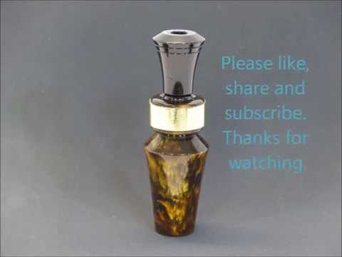 Simple Easy to Make Duck Call