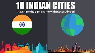 10 Indian Cities that share the same name with places Abroad | Simbly Chumma