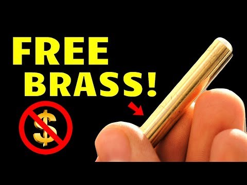 Where to Find SOLID BRASS Rods/Round Bar Stock for FREE! (for DIY projects or scrapping)
