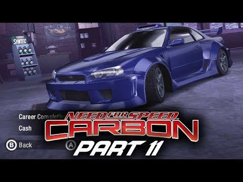 Need for Speed Carbon Gameplay Walkthrough Part 11 - TIER 3 RACING PARTS
