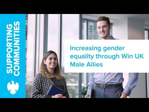 Win UK Male Allies on engaging men in gender equality | Barclays