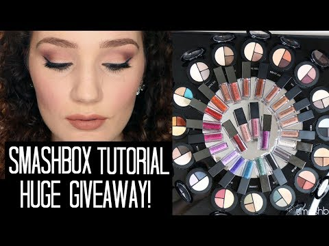 New Smashbox Makeup Tutorial & GIVEAWAY! 2 WINNERS