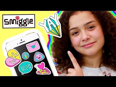 Smiggle National Stationery Week | Smiggle Yay Stickers App | Ambi C Giveaway