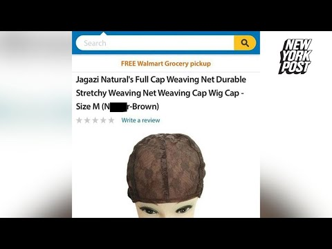 N-word used on Walmart website to describe product color | New York Post