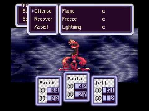 Earthbound Halloween Hack part 12 - playithub com