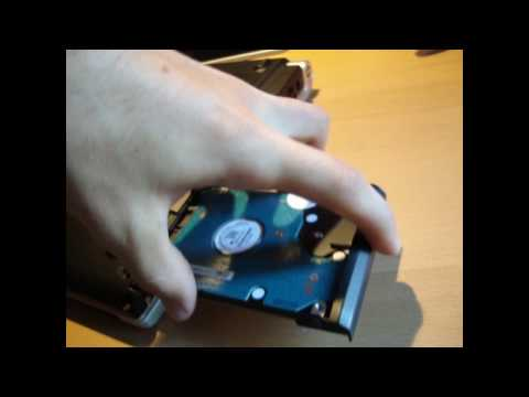 Changing a Hard Drive in a Dell XPS M1530