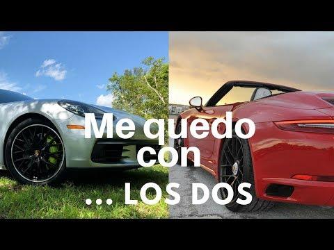 Doble Test Drive Porsche 911 Carrera GTS y Porsche Panamera 4 e-Hybrid en Miami