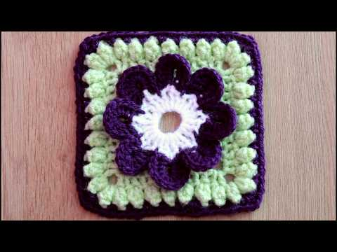 Granny Square #9 - Flower Granny