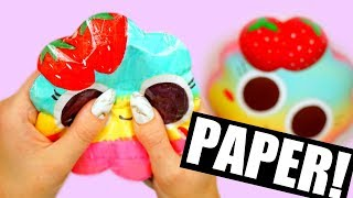 Download DIY PAPER SQUISHY | How to make a squishy without foam Video