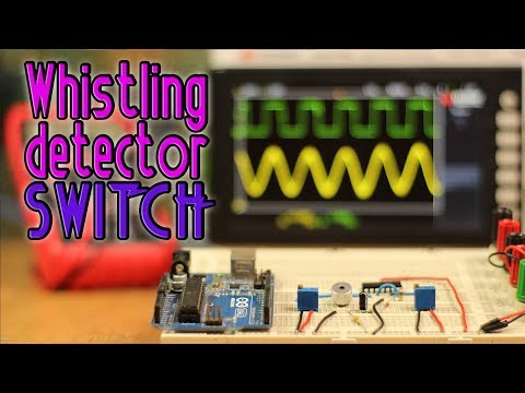Whistle detector switch with Arduino