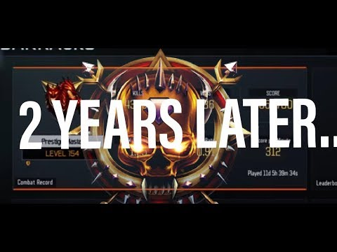 Black Ops 3 Multiplayer Stats 2 Years Later!