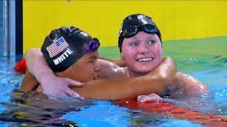 Team USA Sweeps Women's S9 400m Freestyle | Parapan American Games Lima 2019