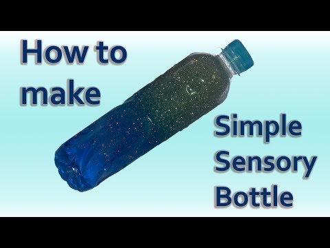 How to make Simple Sensory Bottle