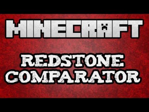 ★ Minecraft Tutorial - Redstone Comparator Tutorial (13w01A) (w/ KestalKayden)