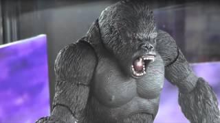 S.H. Monster Arts King Kong Action Figure