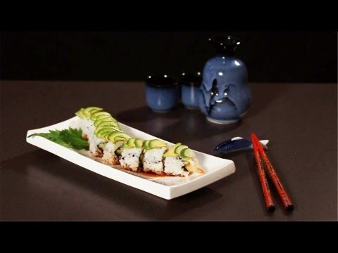 How to Make a Dragon Roll   Sushi Lessons