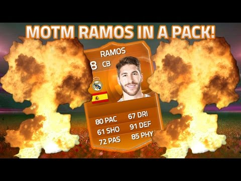 MOTM RAMOS IN A PACK! - FIFA 15 ULTIMATE TEAM