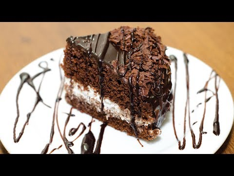 EGGLESS CHOCOLATE CAKE l WITHOUT OVEN