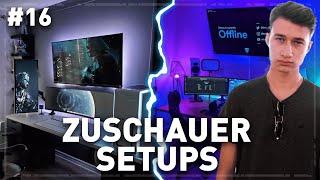 Die BESTEN Gaming Setups von meinen ZUSCHAUERN! (Teil 16)
