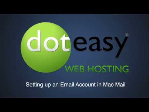 How to Set up an Email Account in Mac Mail