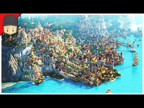Minecraft - EPIC MEDIEVAL CITY! (Map Download)