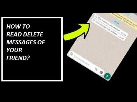 How to read deleted messages from whats up, business whats up and any other social app.